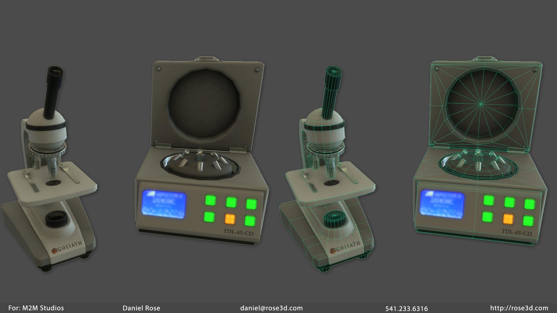 Daniel rose labequipment prop