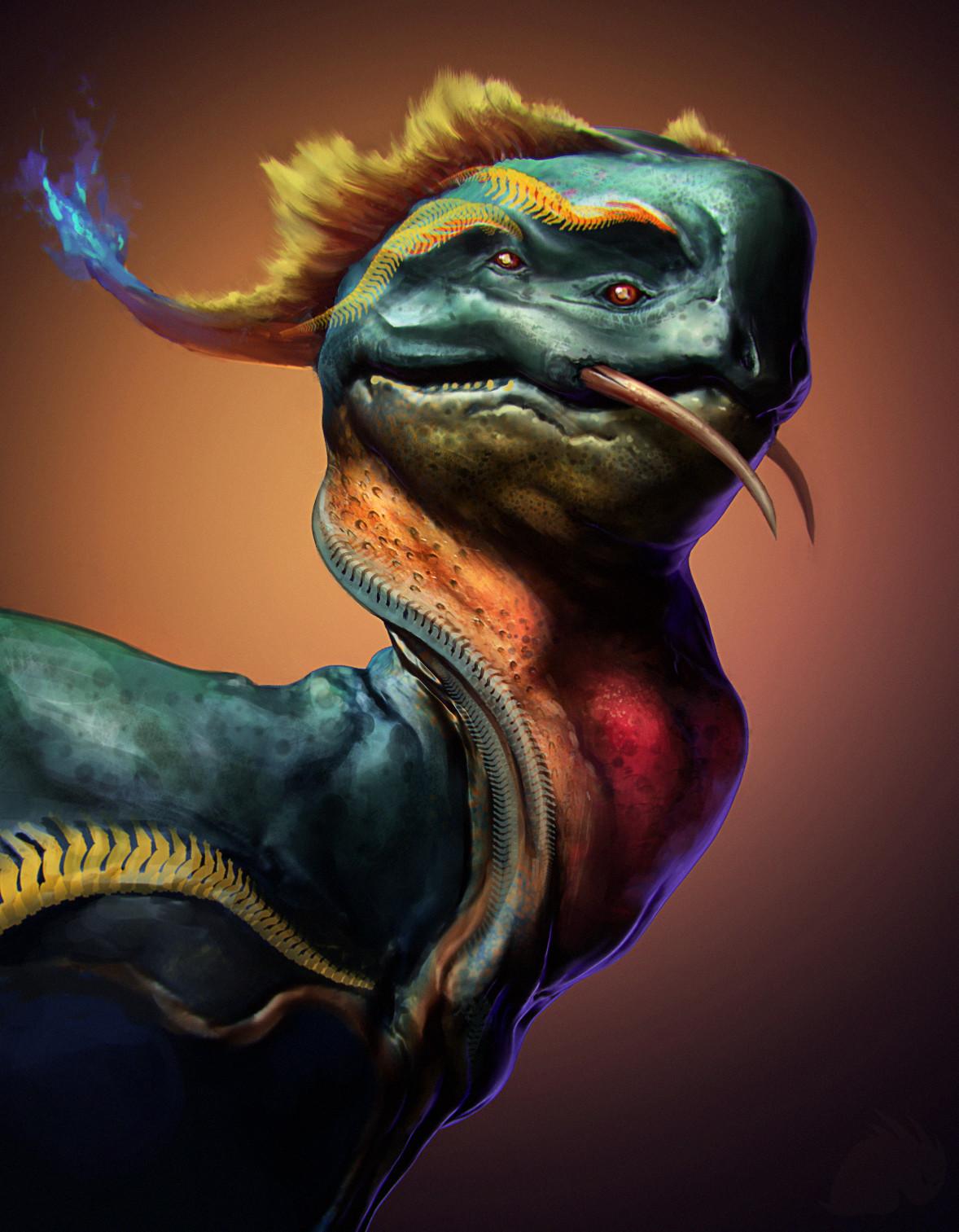 Drago bust