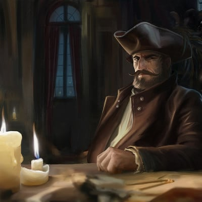 Ludovic sanson pirate captainbd