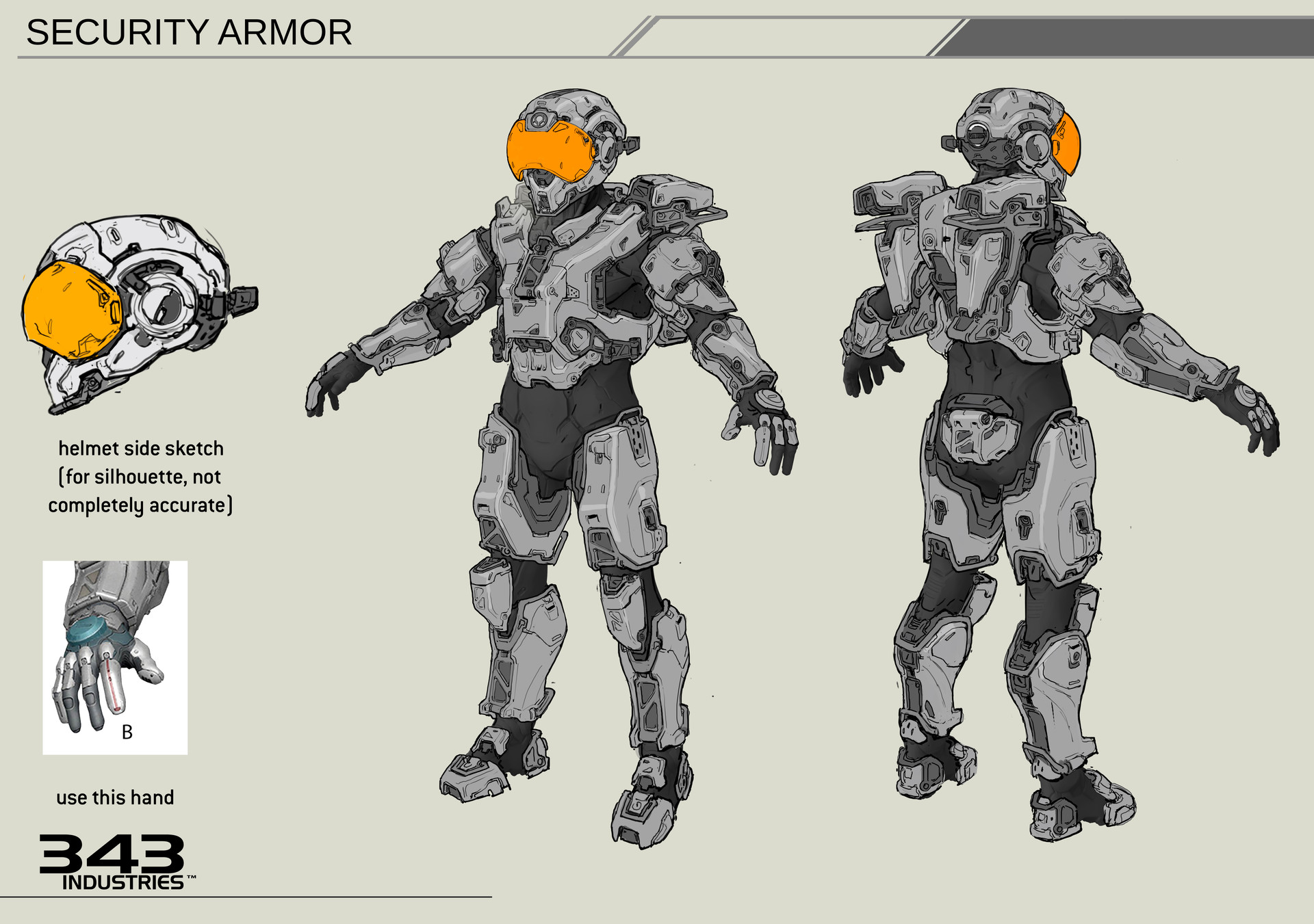 ArtStation - Halo 5 Security Armor, Kory Hubbell Borderlands Achievement