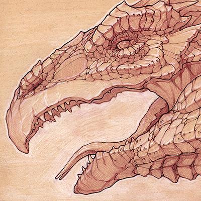 Charles hamel crocodile scaled creature