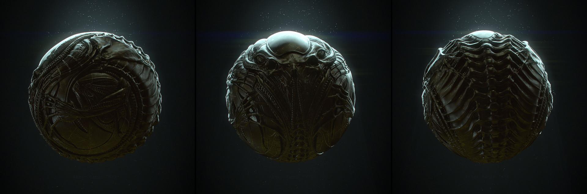 Abner marin alienartifact triptic small