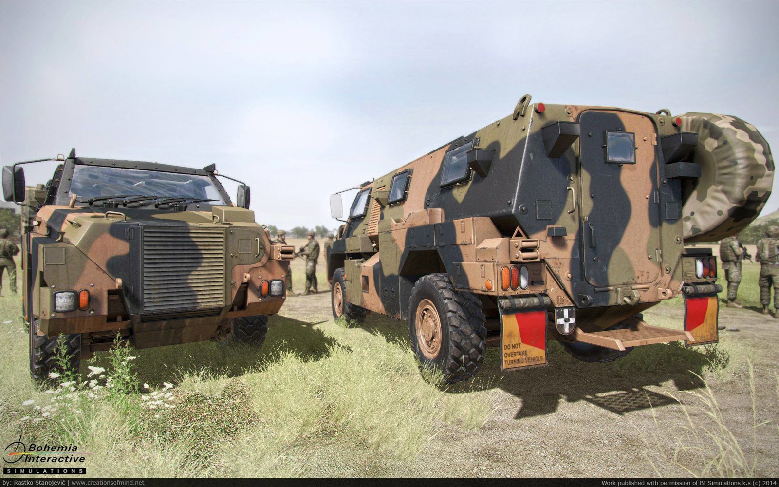 Bushmaster game model - 2014