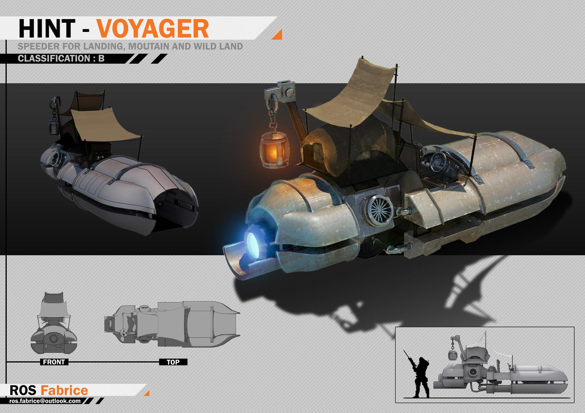 Speeder concept