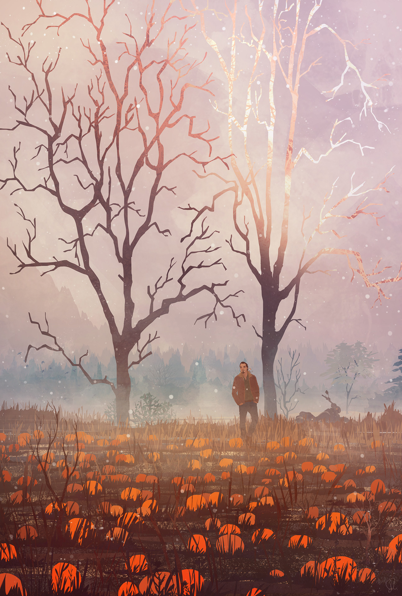 Jessica rossier illustration fall pumpkin jessica rossier hd