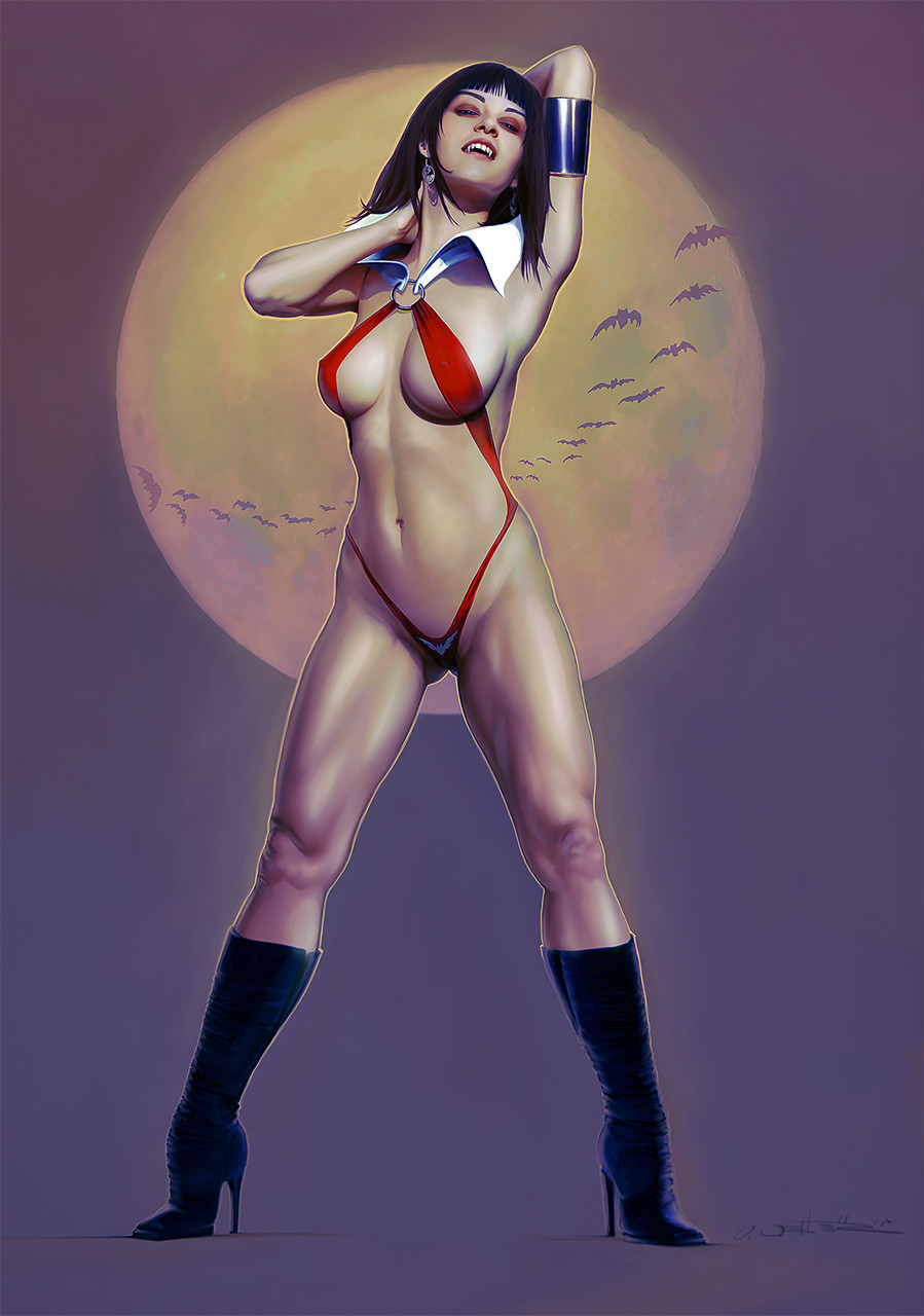 Oliver wetter vampirella color new