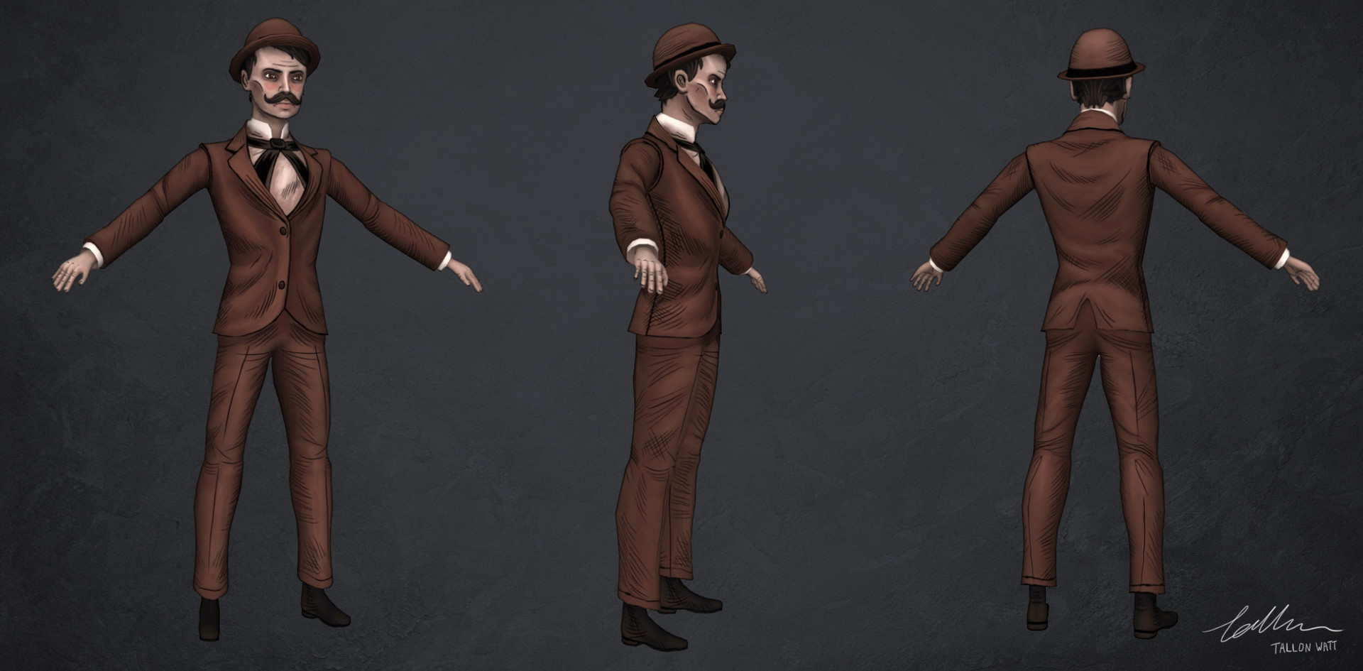 Tallon watt suitman