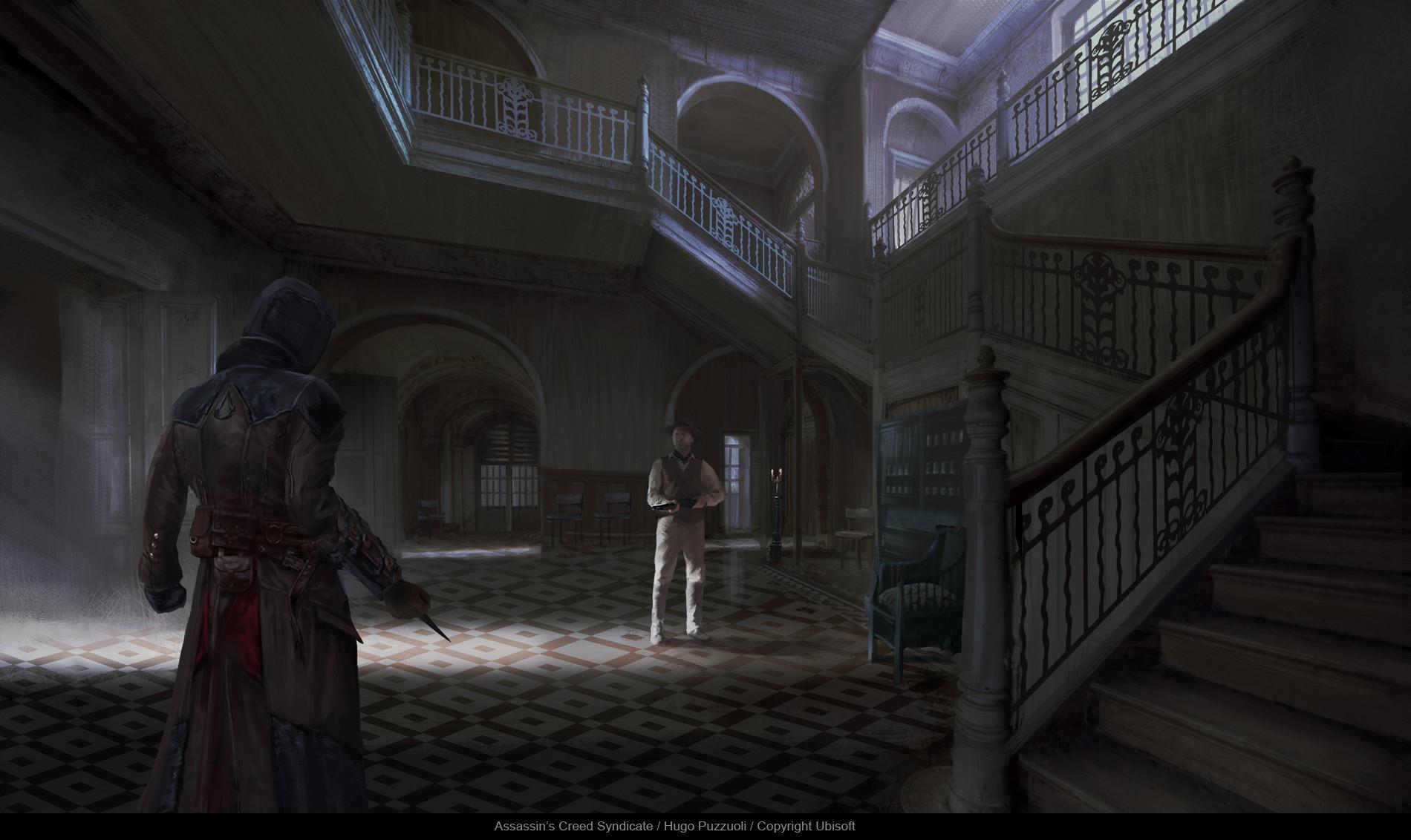 Hugo puzzuoli bedlam asylum lobby 05 hpuzzuoli
