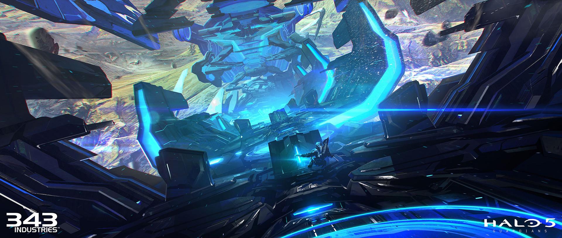 Artstation Halo 5 Guardians Darren Bacon