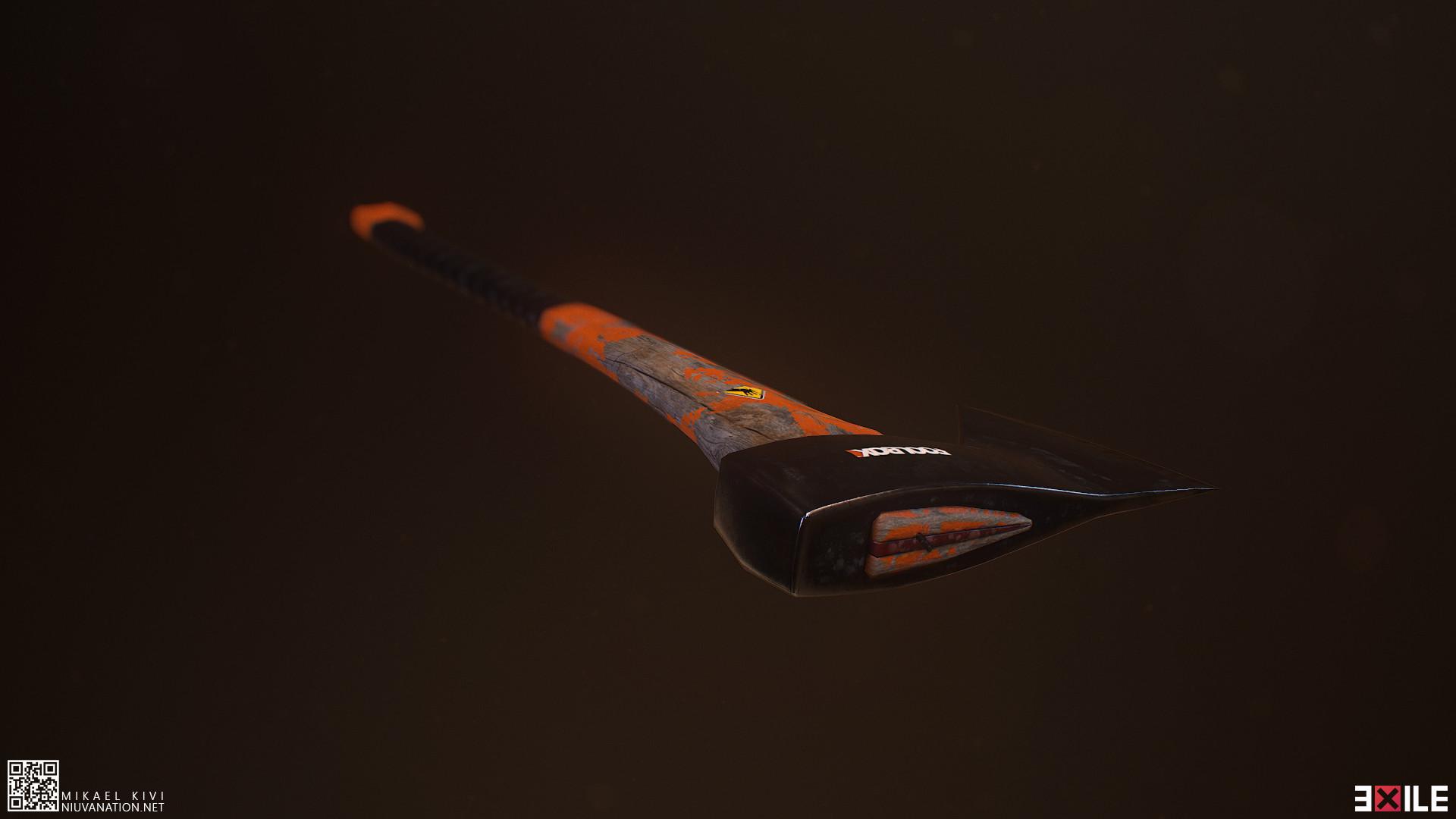 Mikael kivi exile axe01