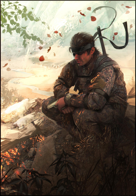 Artstation Snake Solid Snake Richard Sashigane