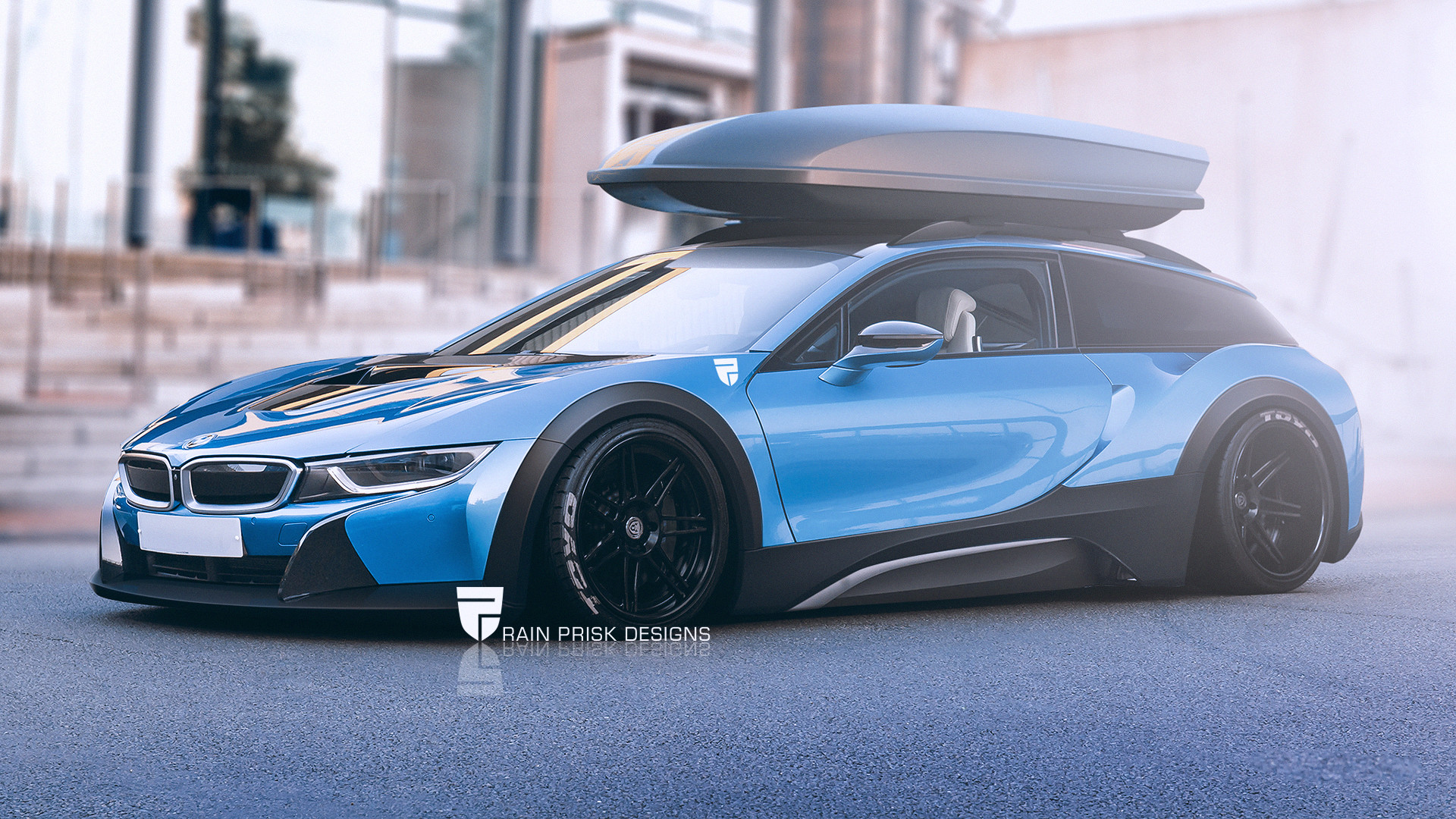 Rain Prisk Bmw I8 Shooting Brake