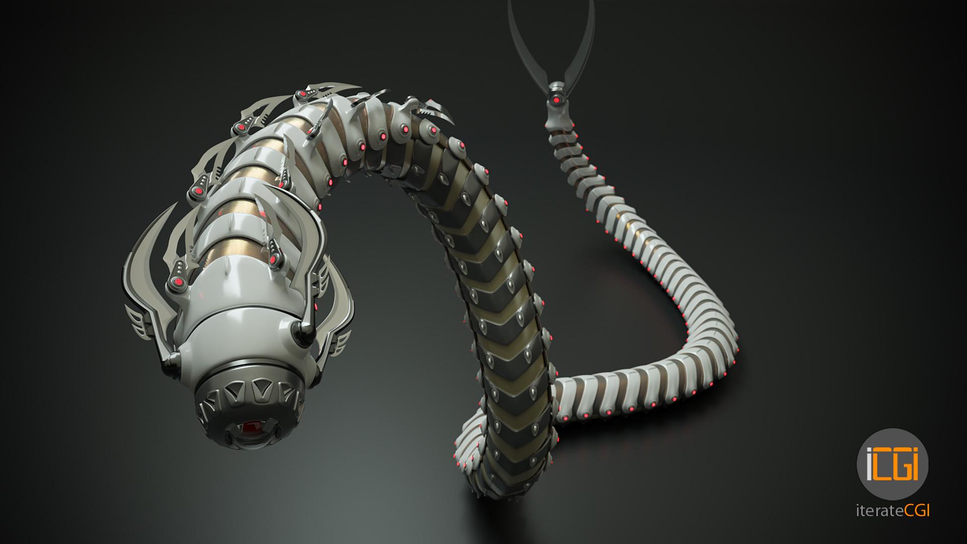 Johan de leenheer snakebot 3