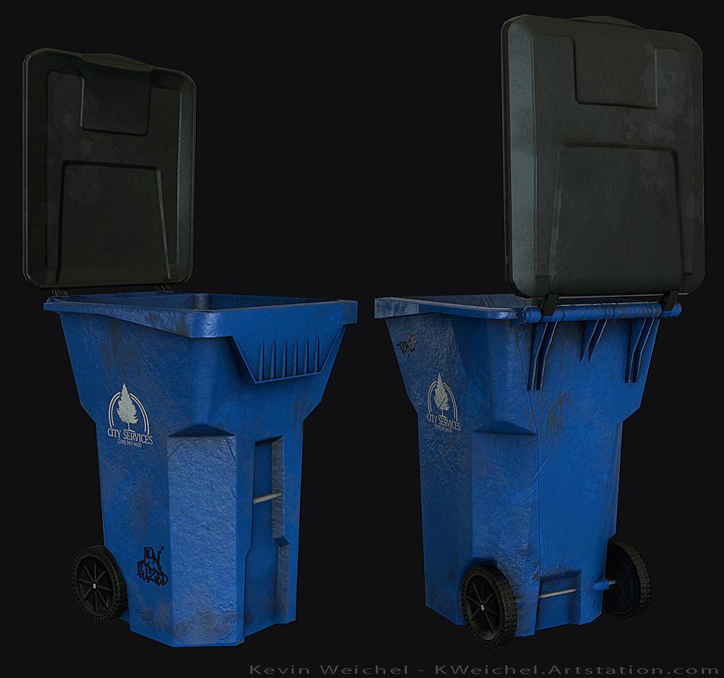 Kevin weichel trashcan
