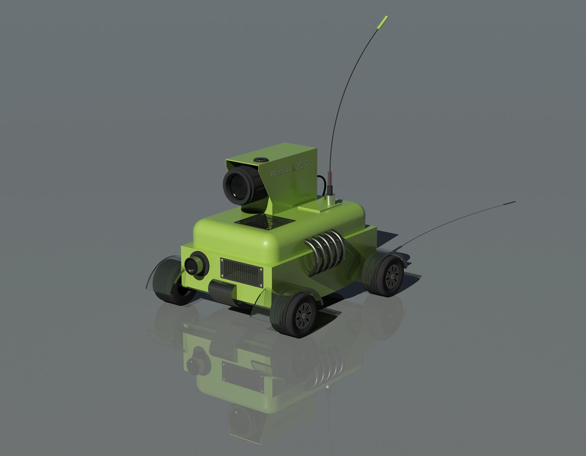 Diego peinador robot car02