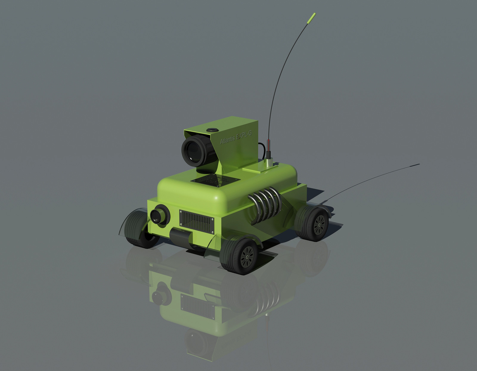 Surveillance on wheels
