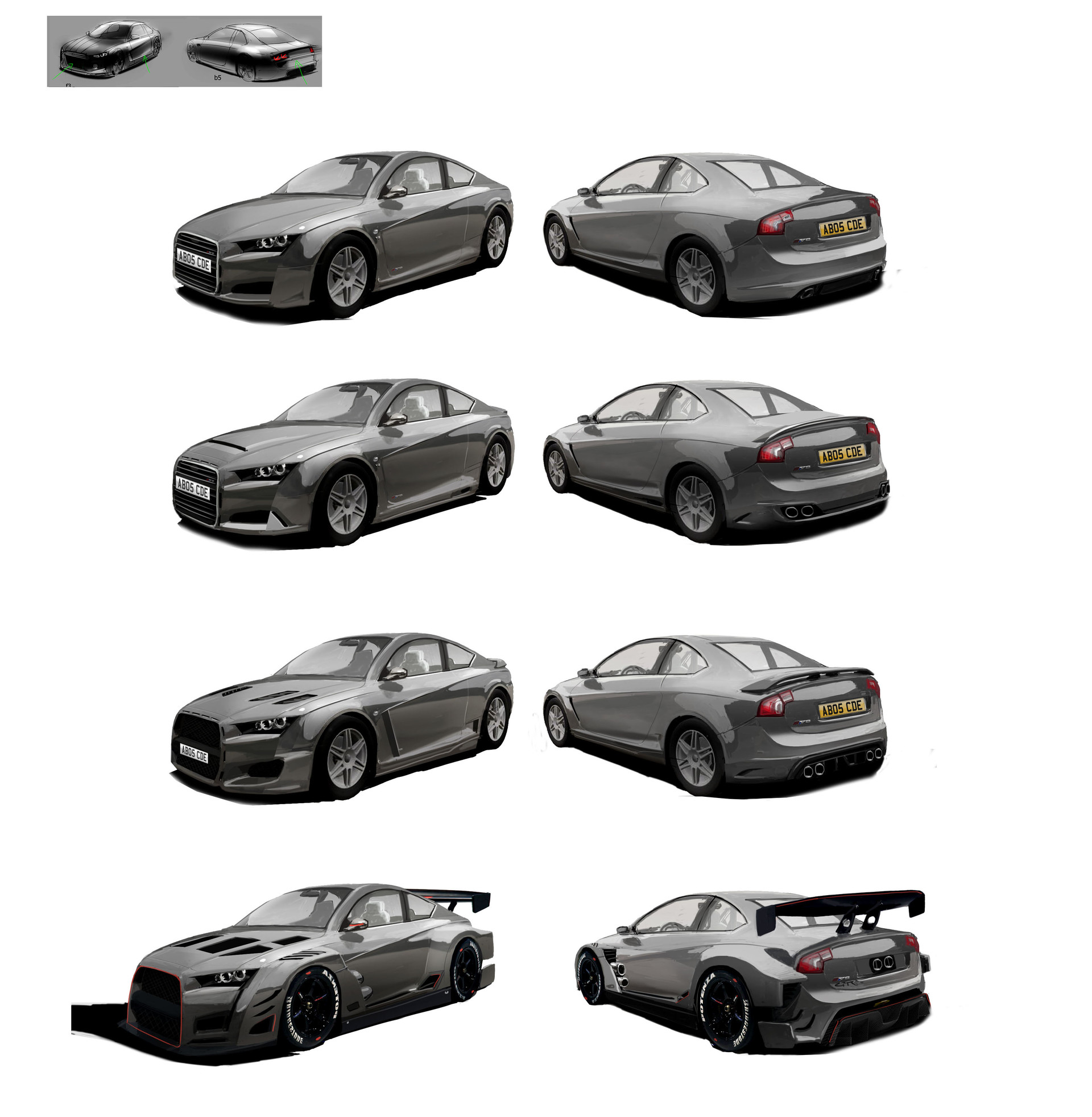 Alex brady bmw audi kits