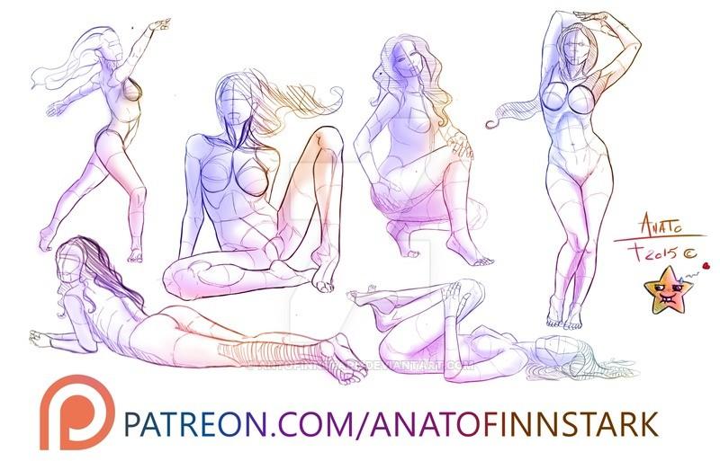 Anto finnstark female study 01 by antofinnstark d9ikpyl