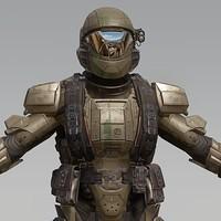 Artstation Halo 5 Tanaka Kyle Hefley