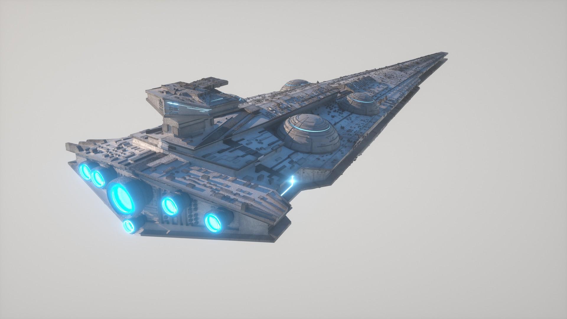 Kresimir jelusic 53 301115 interdictor cruiser star destroyer class clean3