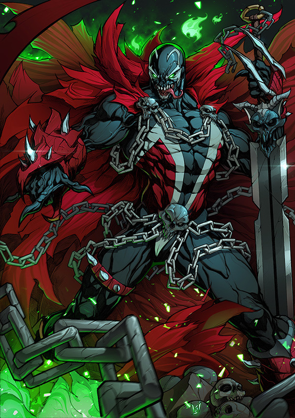 Alvaro jimenez the hellspawn color 9 w