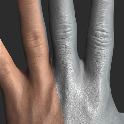 Francois rimasson hand compo closeup