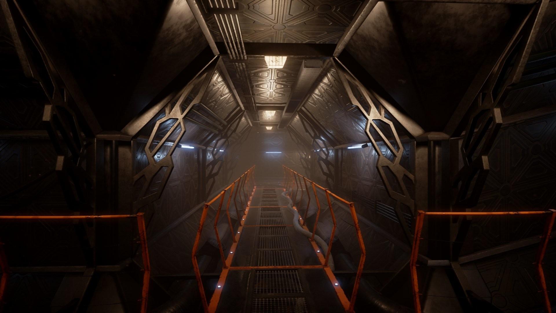 roman pivtoranis - sci-fi corridor environment
