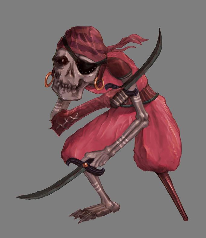 Tazo jiang skull02