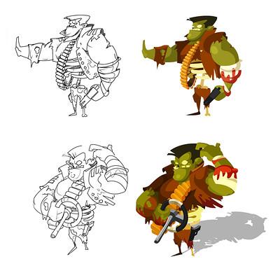 Marcin sobon zombie designs