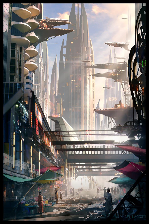 Raphael lacoste mantis city