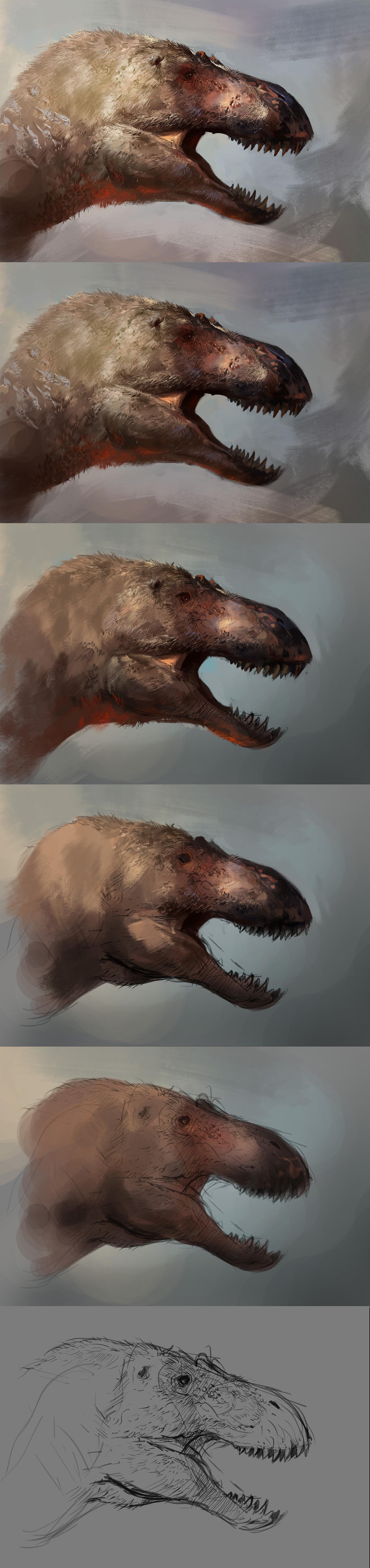 Raph lomotan t rex headwip