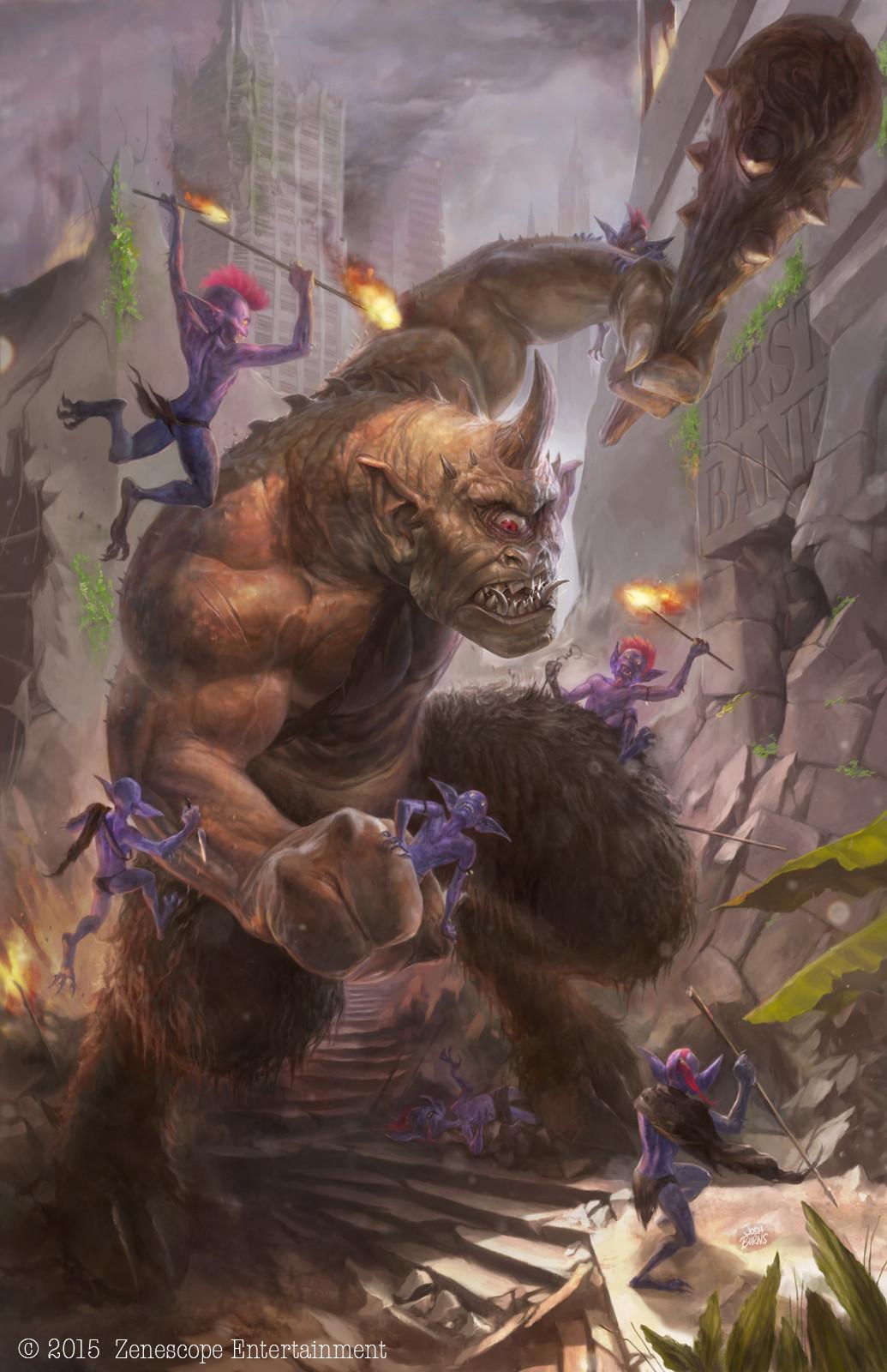 artstation escape from monster island 2a josh burns