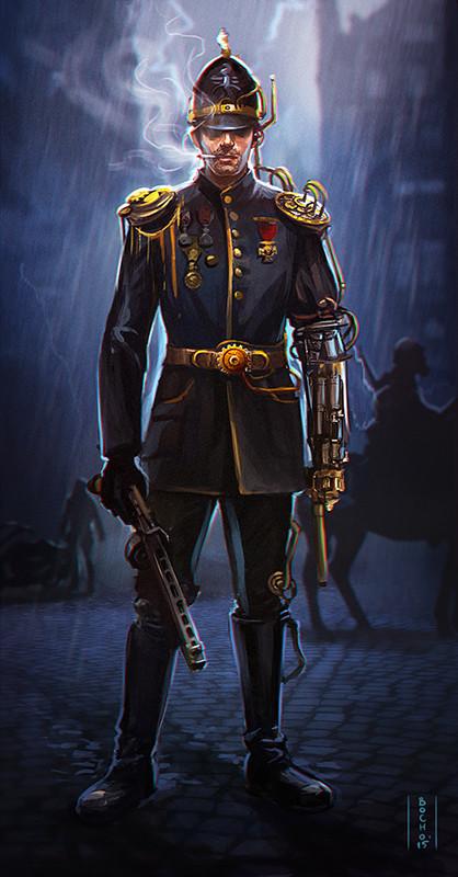 Victorian Guard Armor, Aldo Vicente on ArtStation at https ...  |Victorian Steampunk Concept Art