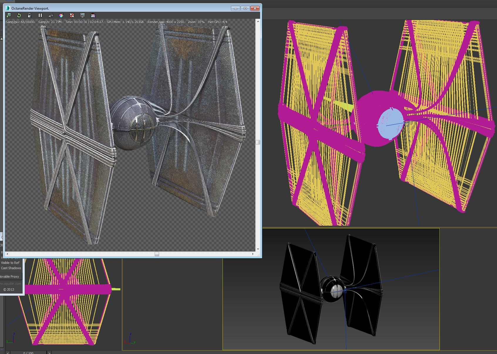 Kresimir jelusic 57 051215 tie fighter steam punk process1