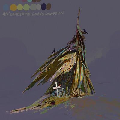Lip comarella tree grave guardian