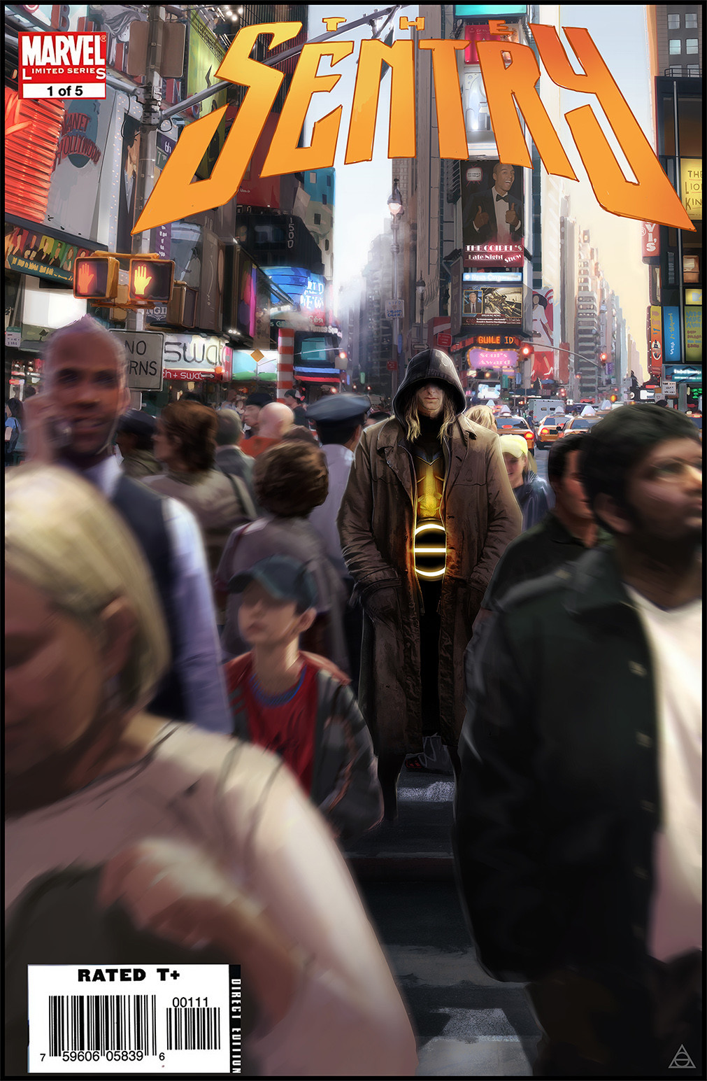Gary jamroz palma false marvel cover sentry times square o