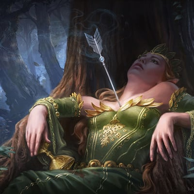 Luisa preissler death of the elvenqueen luisa preissler