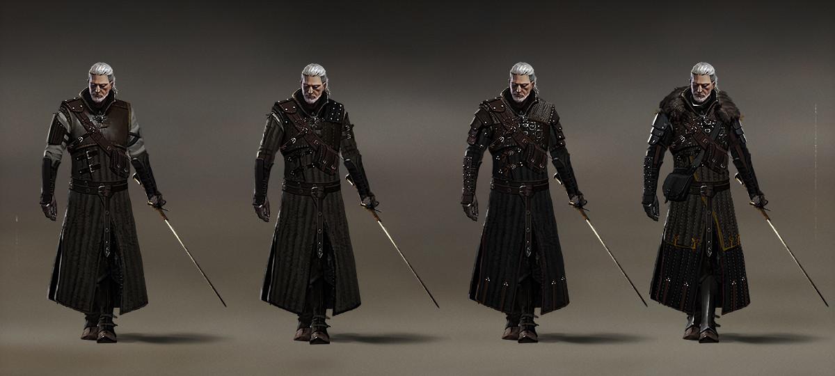 ArtStation - The Witcher 3: Bear Armor, Marek Madej