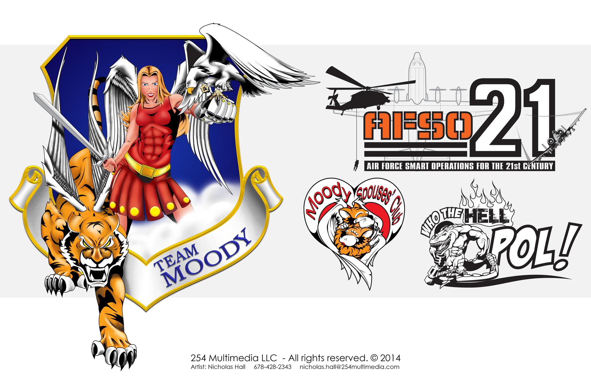 Nicholas hall 254mm nhalls artwork 2d logos
