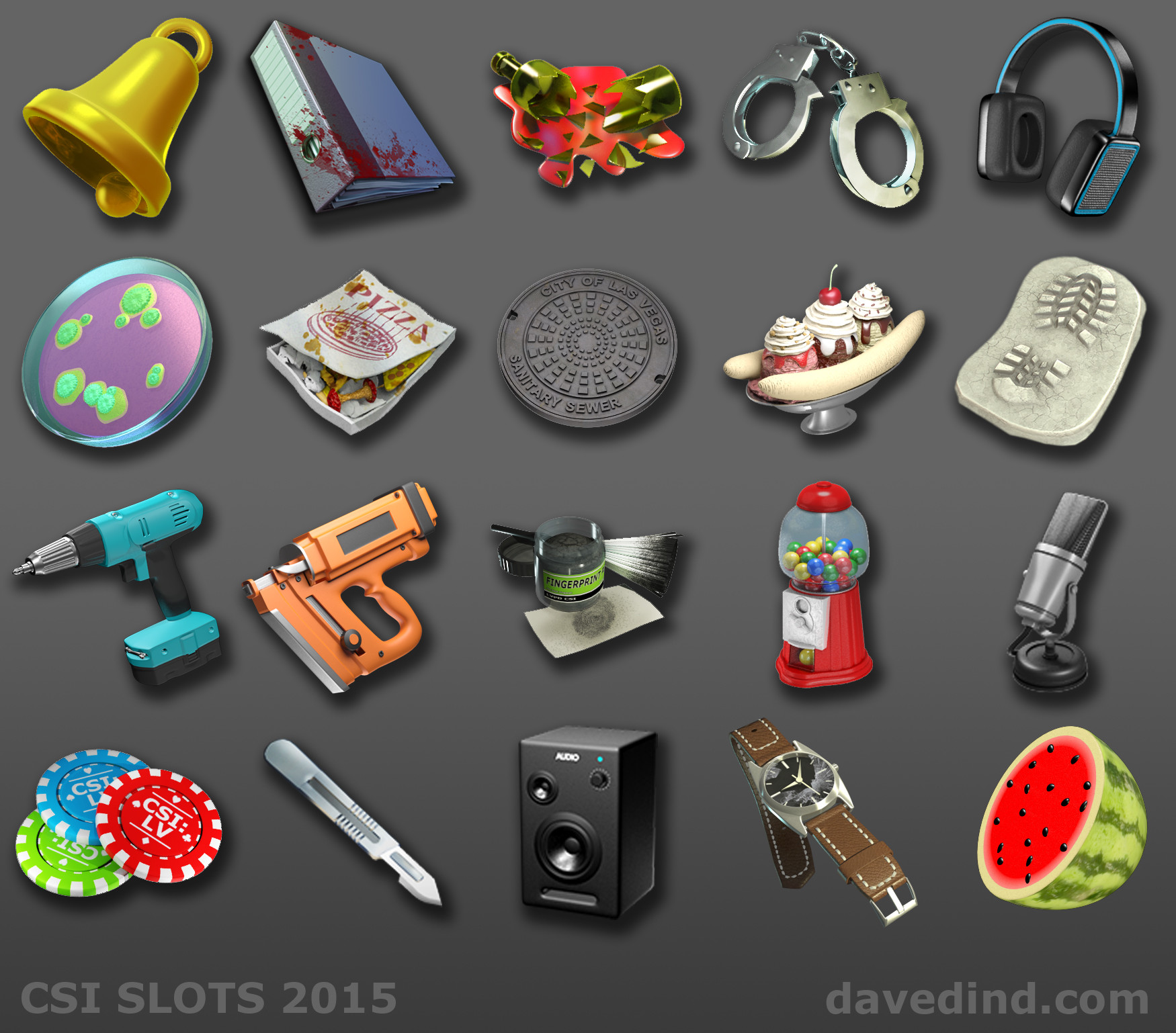 Dave dind all items