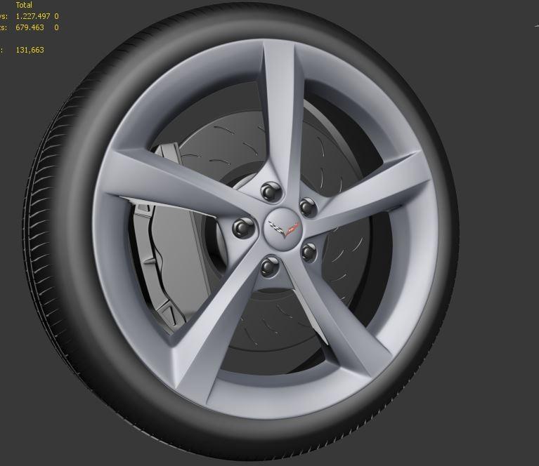Bruno moreira wheel corvette