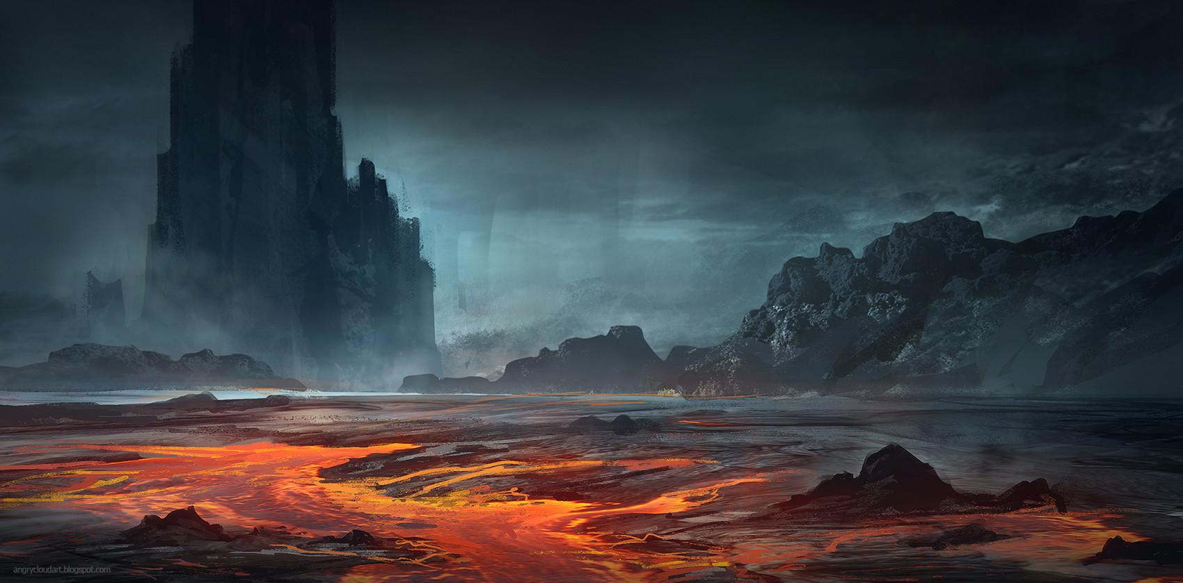 artstation lava magdalena Świderska