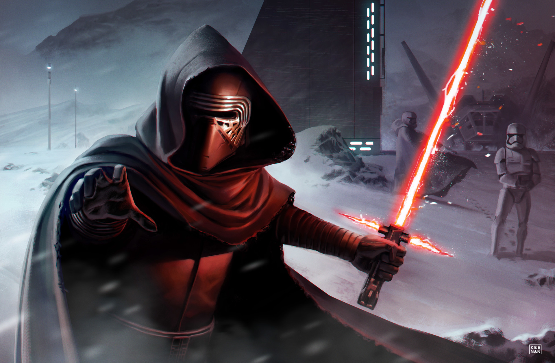 Dave keenan kylo ren the hunt