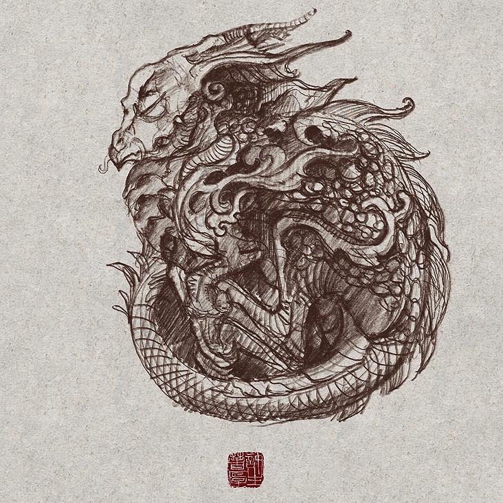 Zhelong xu baybydragon sketch