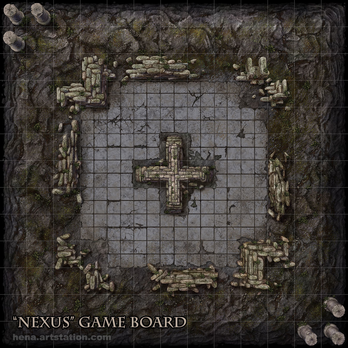 Karin wittig nexus game board as
