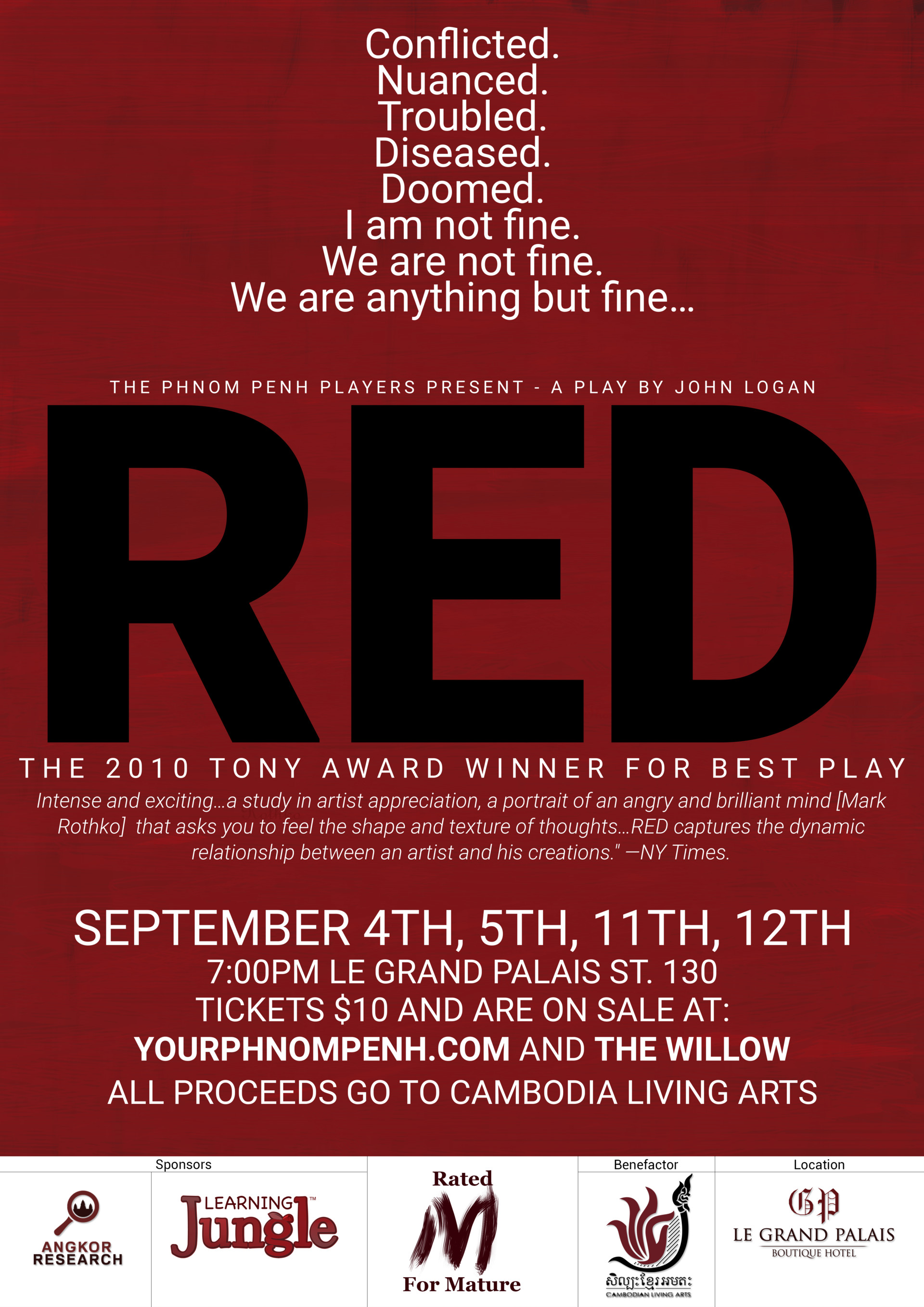 Alex meister red new poster
