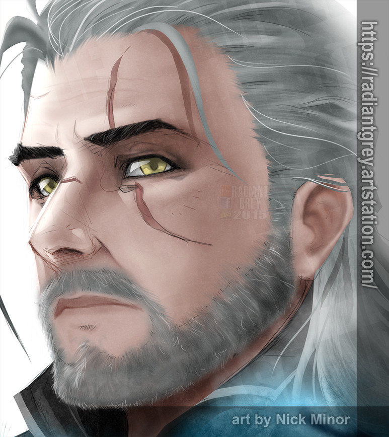 Nick minor witcher geralt