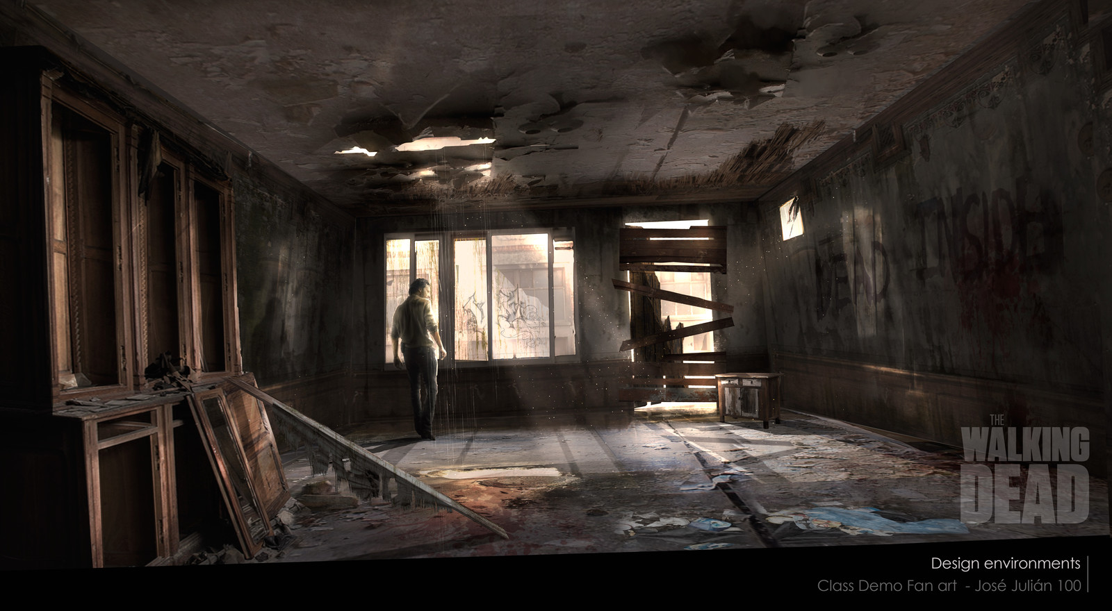 Class Demo Fan art Walking Dead - Design environments
