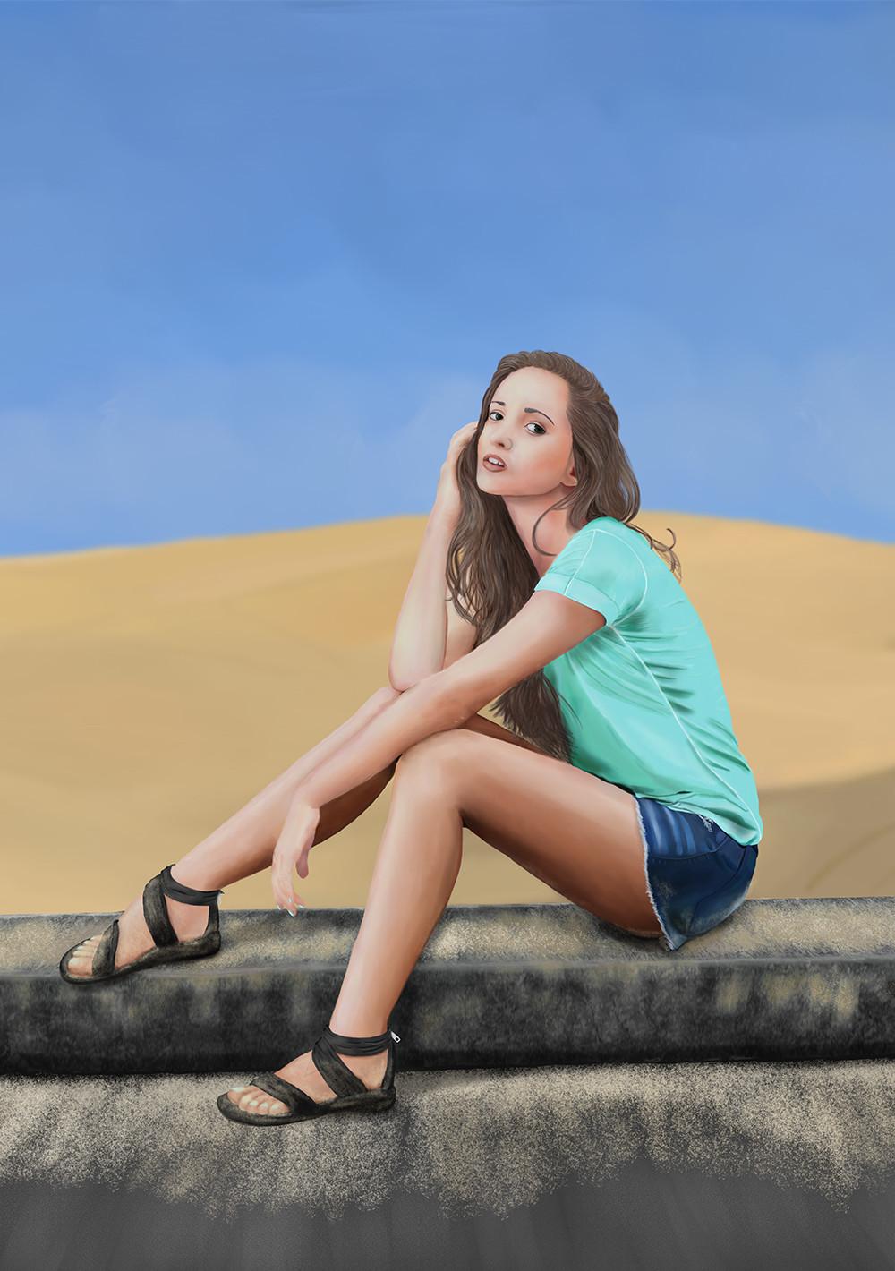 Brinjen russell summer at the beach web size