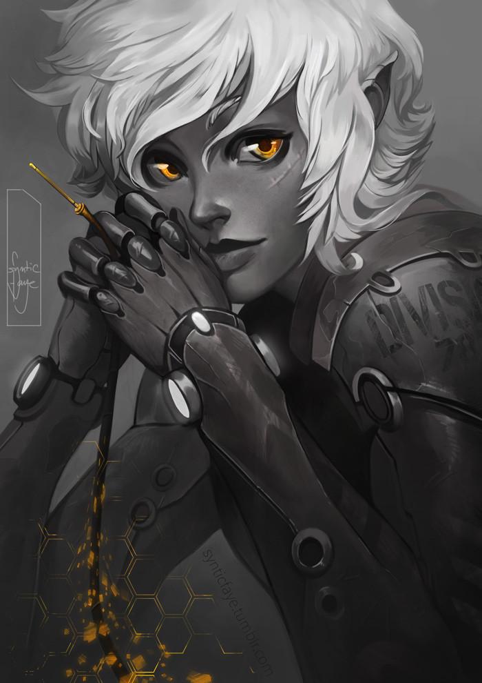 Trudy wenzel cyborggirl synticfaye